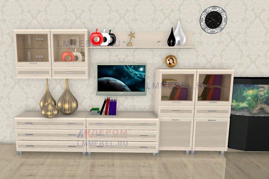 Мебель Лером Гостиная Мелисса Москва